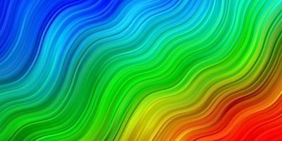 donker veelkleurig vectorpatroon met lijnen.