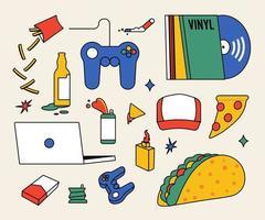 items die nodig zijn om een pauze te nemen.