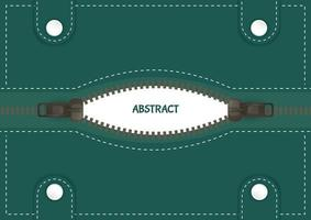 abstracte achtergrond met ritssluiting vector
