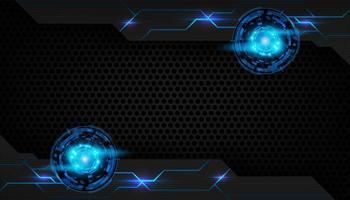 abstracte futuristische chroomachtergrond vector