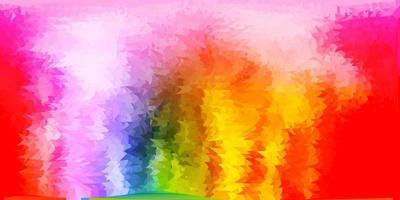 licht veelkleurige vector driehoek mozaïek sjabloon.