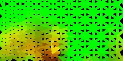 donkere veelkleurige vector verloop veelhoek lay-out.