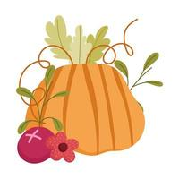 happy thanksgiving day, pompoen bloem fruit oogst viering