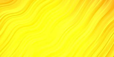 lichtoranje vectorpatroon met wrange lijnen.