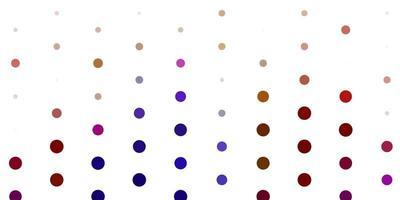 licht veelkleurige vector achtergrond met vlekken.
