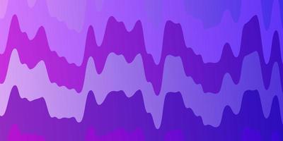 lichtroze, blauw vector sjabloon met wrange lijnen.