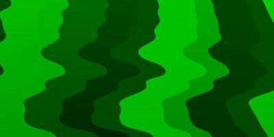 lichtgroen vectorpatroon met wrange lijnen.