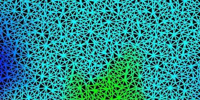 licht veelkleurig vector verloop veelhoek behang.