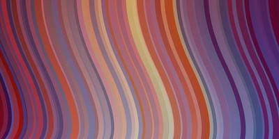 licht veelkleurige vectorlay-out met wrange lijnen.
