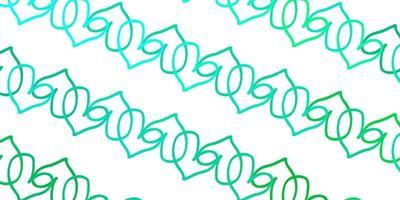 lichtgroene vectortextuur met mooie harten.