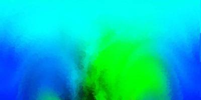 lichtblauwe, groene vector veelhoekige achtergrond.