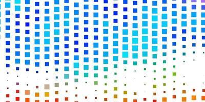 donkere veelkleurige vector sjabloon in rechthoeken.