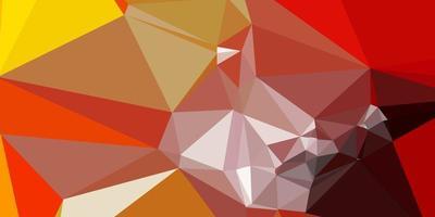 lichtoranje vector kleurovergang veelhoek lay-out.