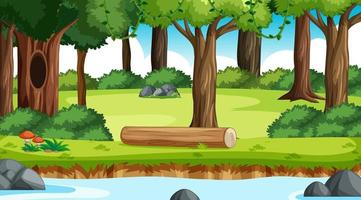 natuur buiten bos achtergrond vector