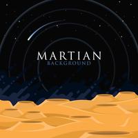 Martiaanse achtergrond vector