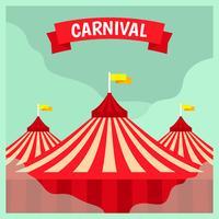 Carnaval Poster sjabloon
