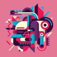 Abstracts over de hele wereld vector