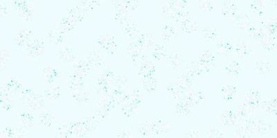 lichtroze, blauwe vectorkrabbelachtergrond met bloemen. vector