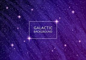 Ultra Violet galactische achtergrond vector