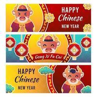 2020 chinees nieuwjaar banner