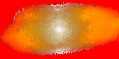 lichtoranje vector abstracte driehoeksjabloon.