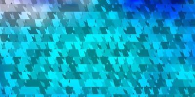 lichtroze, blauw vectorpatroon met veelhoekige stijl. vector