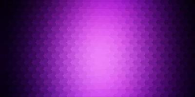 donkerpaarse vectortextuur met lijnen.