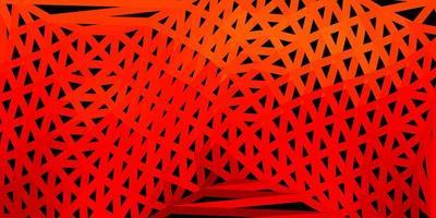 donkeroranje vector abstracte driehoekstextuur.