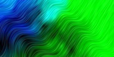 donkere veelkleurige vectortextuur met wrange lijnen.