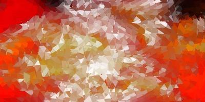 donkeroranje vector abstracte driehoeksachtergrond.