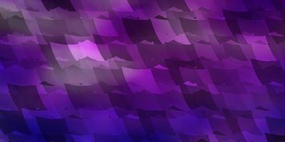 lichtroze, blauwe vectorachtergrond met reeks zeshoeken. vector