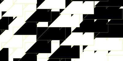 donkergroene, gele vectortextuur met lijnen. vector