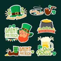 saint patrick kabouter sticker set