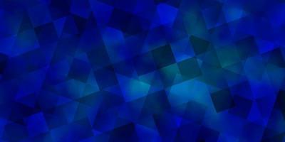 lichtblauwe vectortextuur met polystijl met kubussen. vector