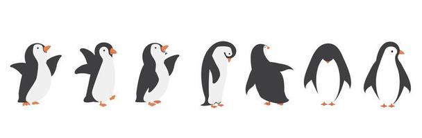 pinguïn tekenset