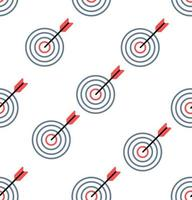 eenvoudige rode en blauwe doel naadloze patroon achtergrond