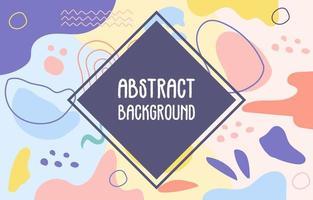 abstracte memphis achtergrond vector