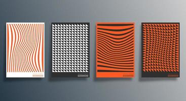 minimaal geometrisch ontwerp voor flyer, poster, brochureomslag, achtergrond, behang, typografie of andere drukproducten. vector illustratie