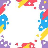 abstract geometrisch stijl naadloos patroon met exemplaarruimte