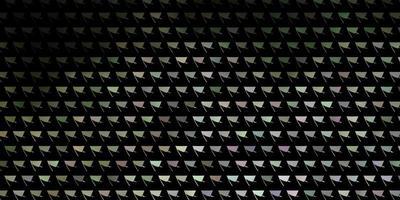 lichtgrijze vector achtergrond met driehoeken.