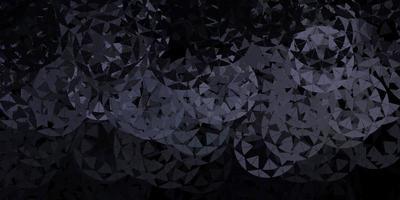 lichtgrijs vectorpatroon met veelhoekige vormen.