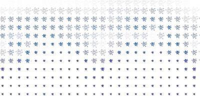 lichtgrijze vector achtergrond met covid-19 symbolen.