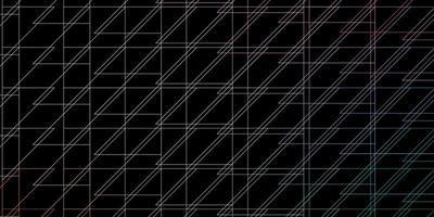 donkergroen, rood vectorpatroon met lijnen. vector