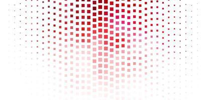donkerroze, rode vector sjabloon met rechthoeken.