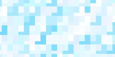 lichtroze, blauwe vectorachtergrond met rechthoeken vector