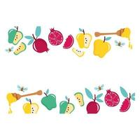 honing in pot met fruit en lepel
