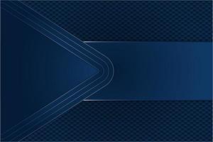 blauwe metalen achtergrond met zeshoek vector