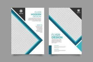 moderne sjabloon flyer of brochure onroerend goed bedrijf