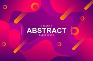 abstract ontwerp als achtergrond met dynamische vloeibare vormen. vector