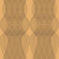 golvende abstracte lijn patroon achtergrond. vector